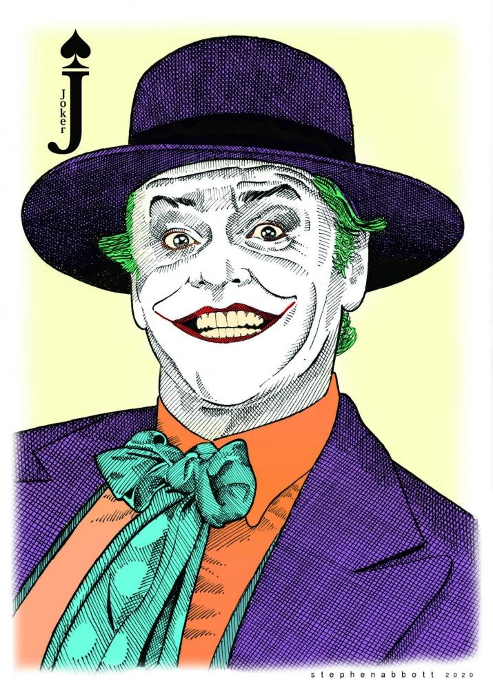Jack Nicholson par Stefanosart